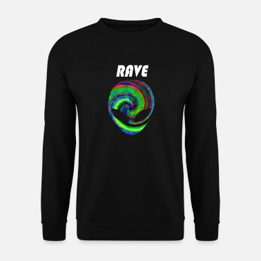 Nu Rave rave rave rave - Mannen sweater 248c7a5f1