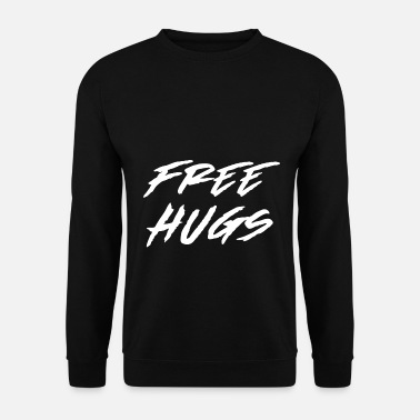 Free Hugs free hugs - Men's Sweatshirt