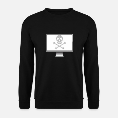 Virus 3 Computer Virus - MAC Virus - Men's Sweatshirt