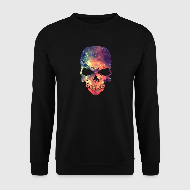 Universe - Space - Galaxy Skull - Sweat-shirt Homme