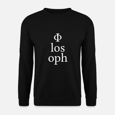 Philosophie philosophe - Sweat-shirt Homme