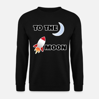 Lune sur la lune - Sweat-shirt Homme