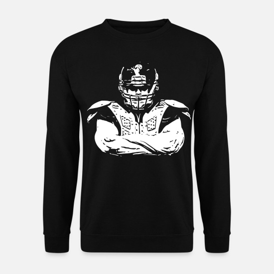 Gift Idea Hoodies & Sweatshirts - 2reborn TEAM FOOTBALL Player Game wh - Unisex Sweatshirt black