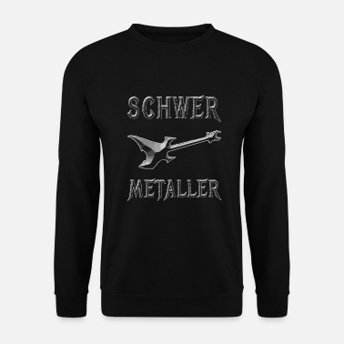 Heavy Metal Heavy Metal, E-Guitarre - Unisex Pullover