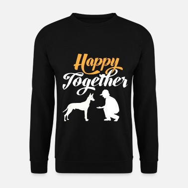 Happy Together - Pharaoh Dog & Dog Owner - Sweat-shirt Unisex