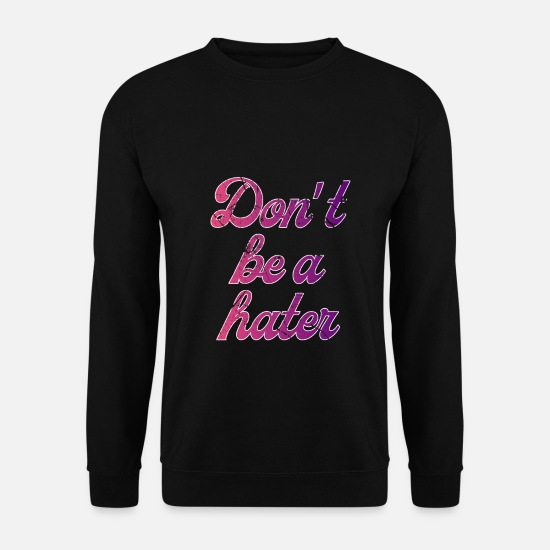 Gift Idea Hoodies & Sweatshirts - saying - Men's Sweatshirt black