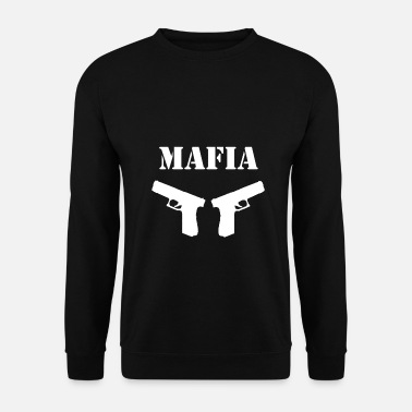 Armes Mafia Paroles drôles - Sweat-shirt Homme