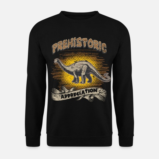 Dinosaure Sweat-shirts - Dinosaure dinosaure - Sweat-shirt Unisex noir