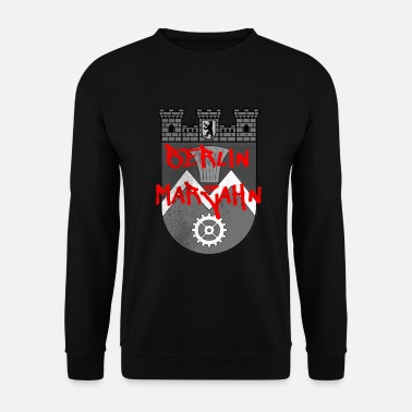 Gangster District de Berlin Marzahn - Sweat-shirt Homme