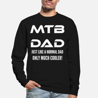 Bike Mountain Bike Dad Father Dad MTB zeggen - Unisex sweater