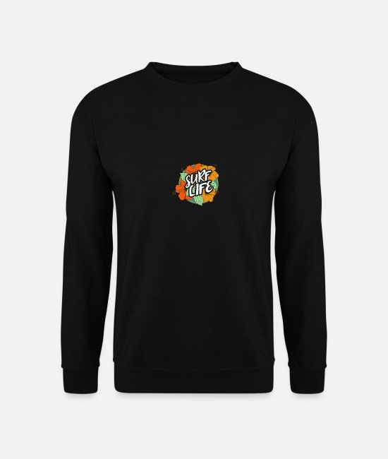 Party Pullover & Hoodies - Surf Life - Unisex Pullover Schwarz