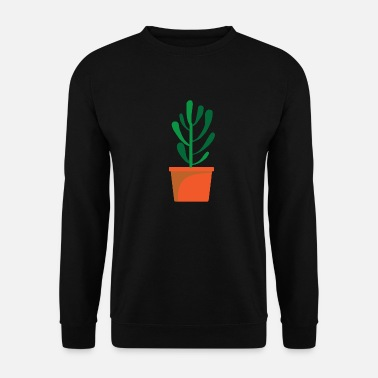 Lust Plant in bloempot, Flowercontest 3 495 - Mannen sweater