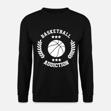 Boldsport Basketball Addiction - afhængighed Boldsport - Sweatshirt unisex
