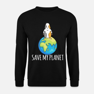Eco Guinea Pig Earth Day Gift Environment - Unisex sweater