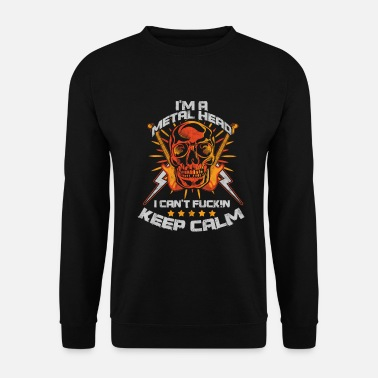 Band Ich bin eine Metal Head Heavy Metal Hard Rock Musik - Unisex Pullover