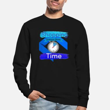 Shopping Grannys Store Time - Unisex Pullover