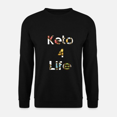 Bacon Keto 4 Life knows - Men's Sweatshirt