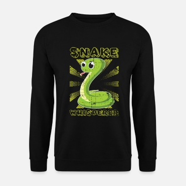 Serpent Cadeau reptile serpent - Sweat-shirt Homme