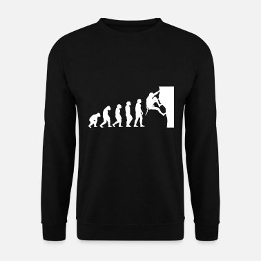 Fitness Evolution climbing - Men's Sweatshirt