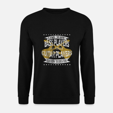 Bassist Dieu guitare basse - Sweat-shirt Homme