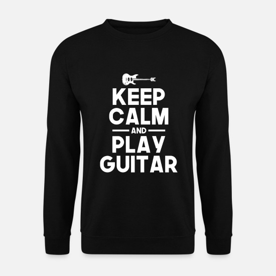 Musicien Sweat-shirts - Passe-temps guitare - Sweat-shirt Homme noir