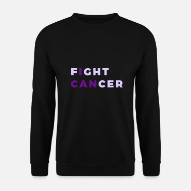 Cancer Cancer Kræft Cancer World Cancer Day Fuck CANCER Cancer - Sweatshirt mænd