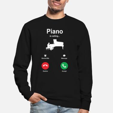 Band At spille klaver klaver pianist gave sød - Sweatshirt unisex