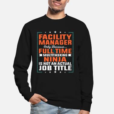 Plant Facility manager profession employee gift idea - Unisex Sweatshirt