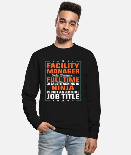 Boss Hoodies & Sweatshirts - Facility manager profession employee gift idea - Unisex Sweatshirt black
