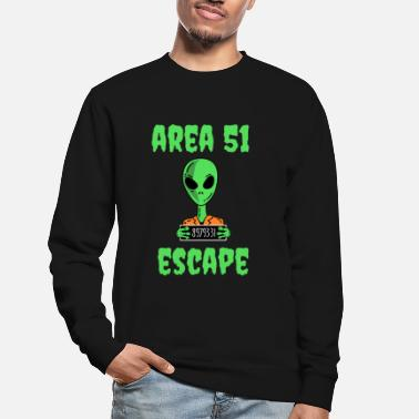 Alienfiguren Area 51 Escape - Alien - Unisex Pullover