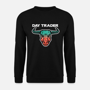 Tradition Day Trader Trader Bulle - Sweat-shirt Homme