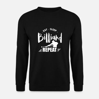 Pool Pool Table Billiard Billiard Pool Billiards - Men's Sweatshirt
