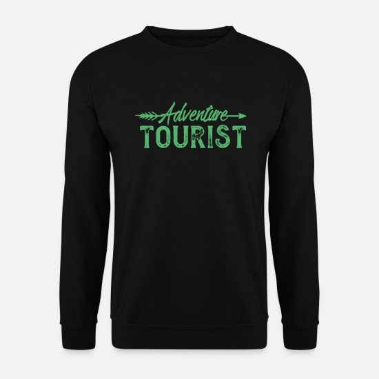 Gift Idea Hoodies & Sweatshirts - Adventure tourist - Men's Sweatshirt black