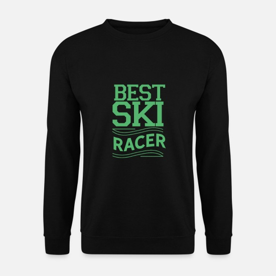 Gift Idea Hoodies & Sweatshirts - skier - Men's Sweatshirt black