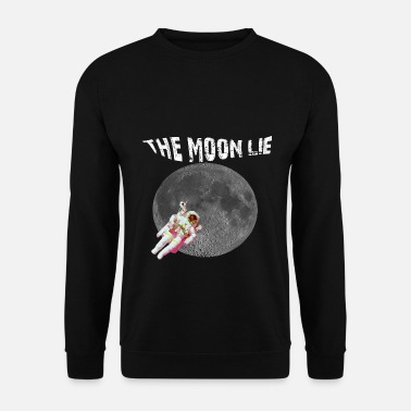 Happy Birthday T-Shirt THE MOON LIE Idea regalo - Felpa uomo