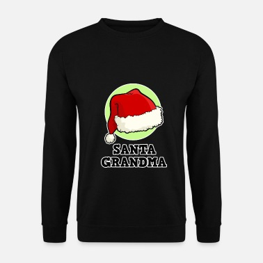 Read Christmas gnome for the family, Santa Grandma - Men's Sweatshirt