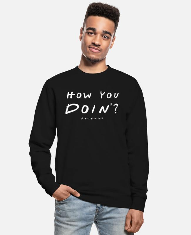 Tv Sweaters & hoodies - Friends How You Doin'? - Unisex sweater zwart