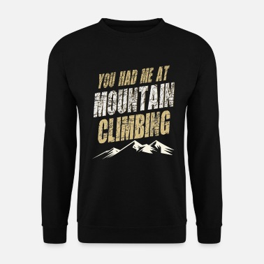 Alpinistes alpinisme - Sweat-shirt Homme