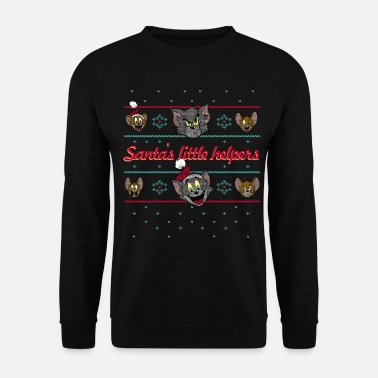 Ugly Tom und Jerry Ugly X-Mas Santa's little helpers - Unisex Pullover