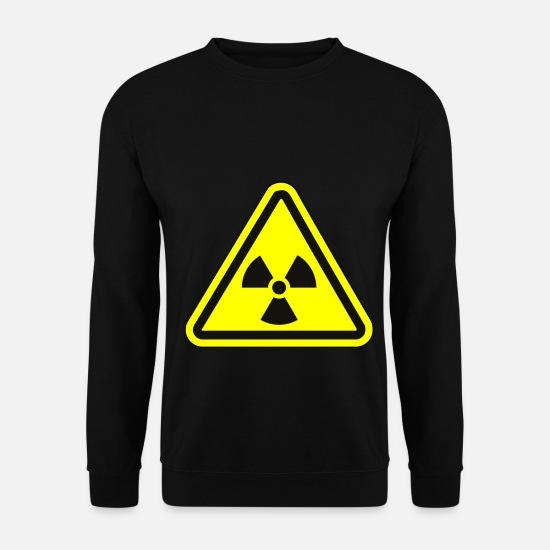 Rayonnement Sweat-shirts - Rayonnement Atome Apocalypse Fallout - Sweat-shirt Homme noir