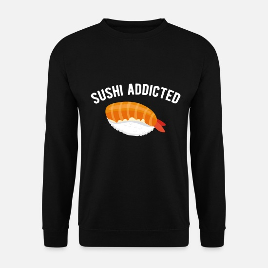 Love Hoodies & Sweatshirts - Sushi love sushi love sushi lovers - Men's Sweatshirt black