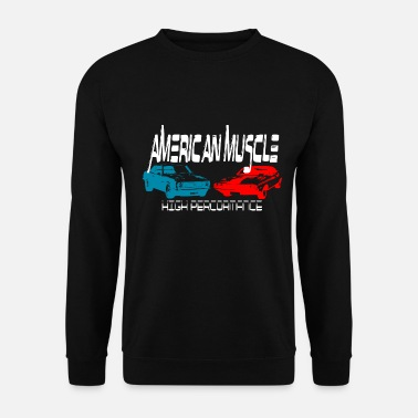Retro Car Muscle Car Car Retro Design - Unisex pusero