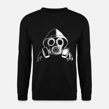 Masque masque à gaz - Sweat-shirt Homme