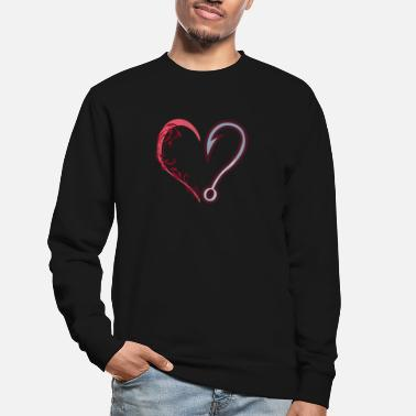 Angler Clothing Angler gifts I love fishing - Unisex Sweatshirt