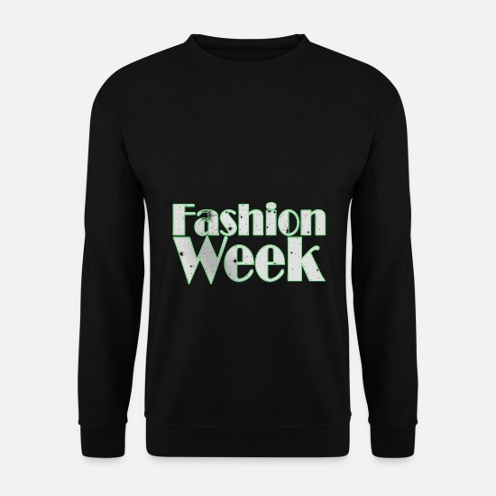 Week Hoodies & Sweatshirts - Fashion Week - Fashion Week - Men's Sweatshirt black