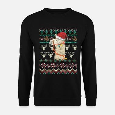 Damen Herren Ugly Weihnachten Santa Xmas Pullover Shirt Sweatshirt Christmas