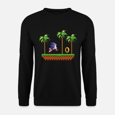 Sonic The Hedgehog Gameplay 16-bit - Unisex Pullover