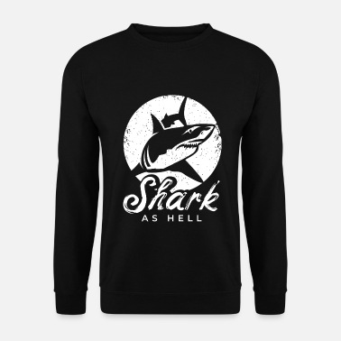 Wale Shark meme shark with funny saying for divers - Men's Sweatshirt