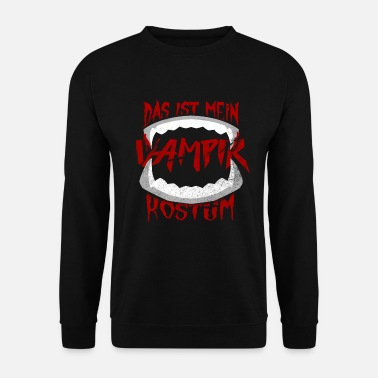 Children This is my vampire costume - Men's Sweatshirt