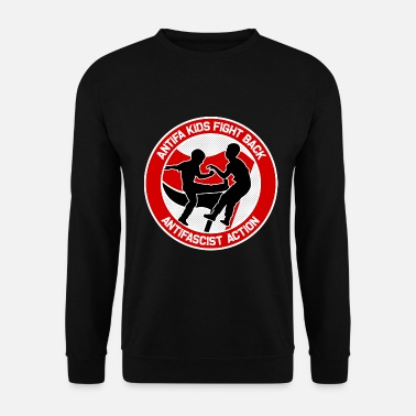Antifa Antifa Kids Fight Back (rojo) - Sudadera unisex